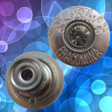 Customized Jeans Metal Button with Rhinestone (HDZL130032)