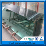 Ce SGCC Certificated 10mm Clear Cheap Toughened Glass
