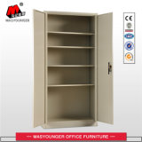 Beige Color Steel Office 2 Swing Door File Storage Metal Filing Cabinet Cupboard