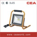 CE RoHS Approved 30W Portable LED Flood Light with Handle