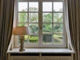 American Style White Aluminium Profile Picture Window