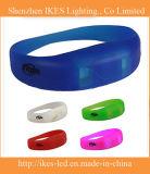 New Products for 2015 LED Bracelet Flashing Plastic LED Silicone Bracelet (LED wristband)