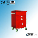 High Quality Hospital Medical Medication Trolley (N-6)