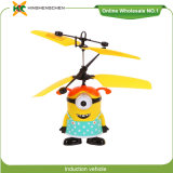 Female Version of Minion Mini Induction Aircraft Helicopters Toy Wholesale
