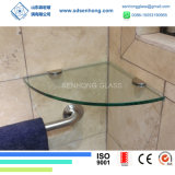 10mm Clear Heat Soaked Tempered Glass Shelf