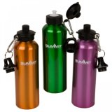 Aluminum Sports Water Bottle with New Design Lid