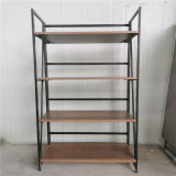 High Quality Folding Frame Bookshelf for Office/Home Furniture Use