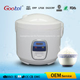 All White Color Fission Body Deluxe Rice Cooker to European Market