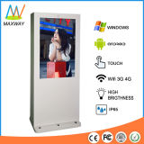 55 Inch Outdoor LCD Advertising Display Monitor Digital Signage Kiosk