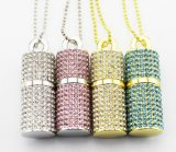 Lipstick Style Jewellry Diamond Gift USB Flash Memory
