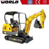 Construction Machine 0.05m3 Bucket W218 1.8ton Mini Excavator Machine Price