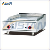 Gh986-1 Gas Griddle with 1/3 Grooved of Catering Equipment