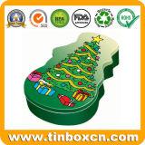 Christmas Tin, Xmas Tin Box, Tin Can, Christmas Gift Tin
