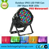 IP65 LED PAR Can Light3w*36PCS RGB LED with Ce, RoHS