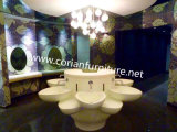 Corian Flower Shaped Hotel Bathroom Basin