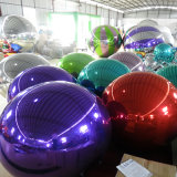 Red Inflatable Mirror Ball/Inflatable Balloon for Show / Party