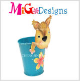 Dog Shaped Metal Planter Quality Control Service