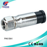 Rg11 Compression RF Coaxial Cable Connector (pH6-5041)