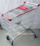 Hot Selling Metal European Grocery Supermarket Shopping Trolley