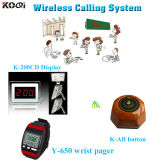 Wireless Calling System Restaurant Waiter Call Button Stand
