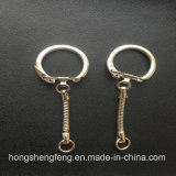Factory Supply Promotion Metal Snake Keychain