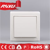 1 Gang 1 Way Wall Switch, Push Button Electric Switch