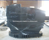 Chinese Shangxiblack Granite Monuments for Exterior