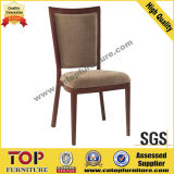 Imitated Wood Restaurant Dining Chair with Handle