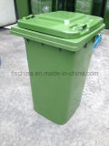 Eco-Friendly 120L/240L Plastic Waste Bin with Two Wheels
