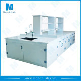 Anti-Acid PP Island Bench for Lab Use