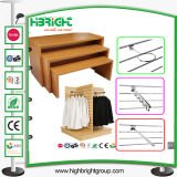 3 Tier Promotional Wooden Table for Clothes