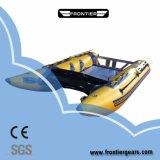 2.7 M-4.3m Multi Color PVC /Hypalon Inflatable Catamaran Boat