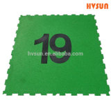 Fitness EPDM Rubber Mat Playground Customized Rubber Flooring Mat in Interlocking