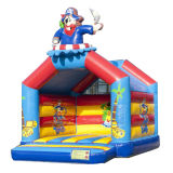 Pirate Castle Inflatable Bouncer House for Kids CB0701