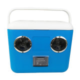 Built-in Lithium Battery Portable Cooler Box with Two Speaker Outdoor Wireless Music Ice Cooler Box