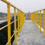 FRP Composite Fence Barrier in Road