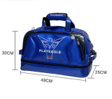 Playeagle New Arrival Double-Layer Men's Golf Duffel Bag for Travel Waterproof Boston Bag with Shoe Pocket