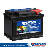 DIN60 60ah Mf Automobile Auto Battery Korea Car Battery Leoch Rocket Wholesale Price