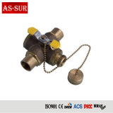 "1/4"" 1/2"" 3/4"" 1"" Brass Cheap Small Mini Ball Valve for Water Air Oil and Gas Brass Ball Valve"