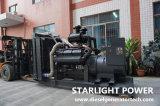 500kw Quiet Electric Diesel Soundproof Generator Power with Shangchai Engine