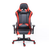 Office Black and Red Cheap PU Leather 180 Degree Playstation Rocker Computer Racing PC Custom LED Ergonomic Gamer Gaming Chair