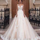 2019 Fashion Sexy White Slim Lace Gown Lady Dress Wedding Dress