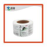 Custom Self Adhesive Vinyl Printing Labels for Medicine