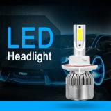 Wholesale C6 Car Light Cheap H13 LED Car Headlight Fan Two Sides 12V 72W 8000lm