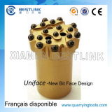Uniface Standard Retrac Thread Button Bit for Diameter 51mm-64mm