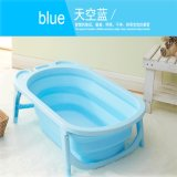 Plastic Colorful Folding Bathtub for Children