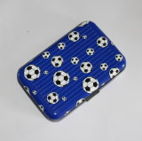 Football RFID Block Durable Aluminum Credit Card Holder (MW21004)