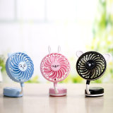 1.7-3.6W Electric Folded Table Rechargeable Stand Fan