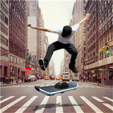 One Wheel Electric Self Balance Colorful Skateboard