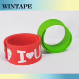 Custom Colorful Fabric Slap Bracelet Under Your Design